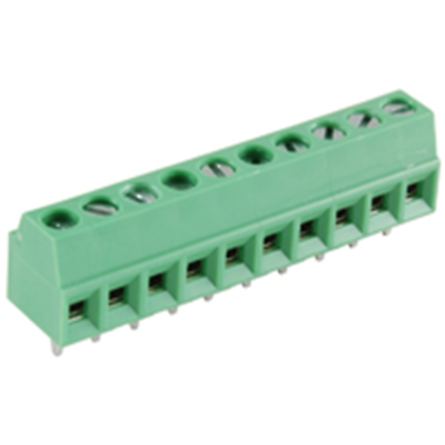 NTE Electronics 25-E100-10 Terminal Block Eurostyle 10 Pole 3.50mm Pitch 300V