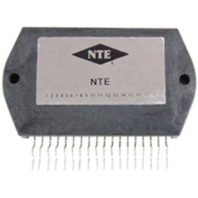 NTE Electronics NTE1819 HYDRID MODULE DUAL 30W AUDIO POWER OUTPUR DUAL POWER SUP