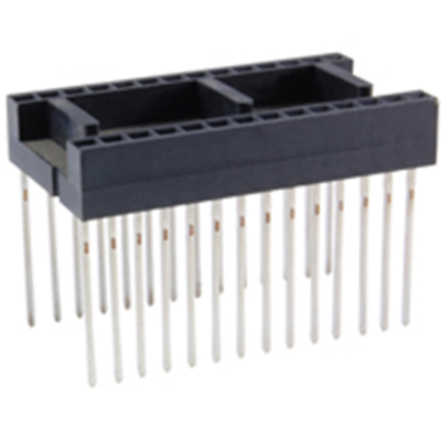 NTE Electronics NTE436W28 Socket For 28-pin DIP Package, Wire Wrap Leads