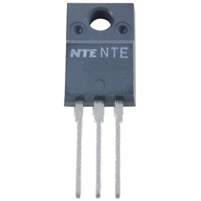 NTE Electronics NTE2999 Power Mosfet N-channel 500V Id=10A TO-220 Full Pack Case