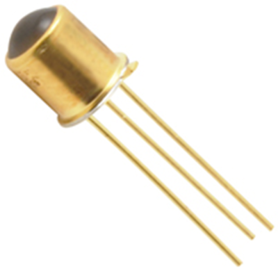 NTE Electronics NTE3032 Phototransistor/detector NPN Silicon Visible + Ir TO-46