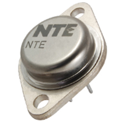 NTE Electronics NTE1645 HYBRID-TV VOLTAGE REGULATOR 107.7V 6AMP TO-3 CASE