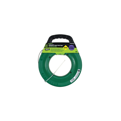 Greenlee FTSS438-200 Stainless Steel Fish Tape 200-Feet x 1/8-Inch