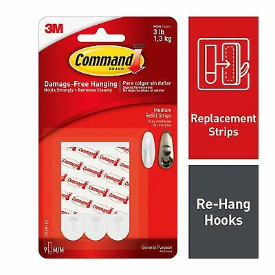 Command Medium Refill Strips 17021P-ES