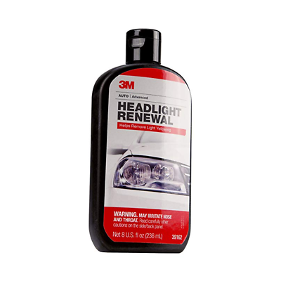 3M™ Headlight Renewal, 39162, 8 oz