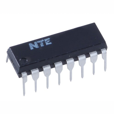 NTE Electronics NTE1054 INTEGRATED CIRCUIT AM/FM IF AMP 14-LEAD DIP IC=3MA