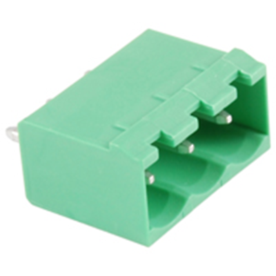 NTE Electronics 25-E1300-03 Terminal Block 3 Pole 5.08mm Pitch 300V 15A PC Mount