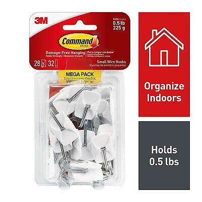 Command Small Wire Hooks Mega Pack 17067-MPES