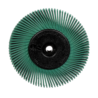 Scotch-Brite™ Radial Bristle Brush, 6 in x 1/2 in x 1 in 50 With Adapter