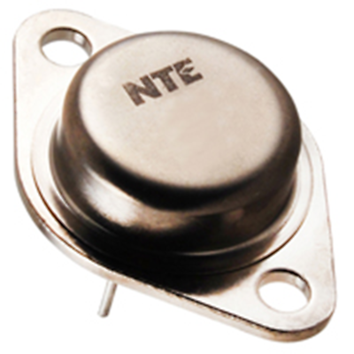 NTE Electronics NTE327 Transistor NPN Si 180V IC=25A TO-3 Power AMP + Switch