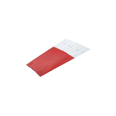 3M™ Diamond Grade™ Conspicuity Markings 983-32 Red/White, 2 in x 18 in