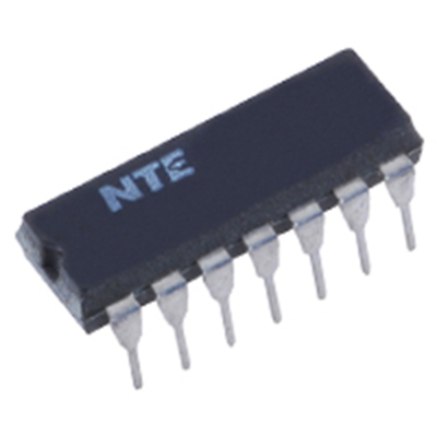 NTE Electronics NTE74164 IC TTL 8-PARALLEL-OUT SERIAL SHIFT REGISTER