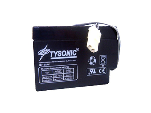 Tysonic TY-12-0.8 12V 0.8AH Sealed Lead Acid Battery