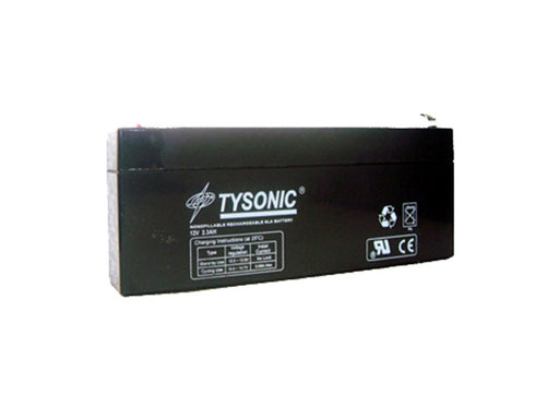 Tysonic TY-12-2.3 12V 2.3AH Sealed Lead Acid Battery