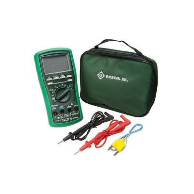 Greenlee DM-860A-C Digital Multimeter with Calibration, 500K Counts