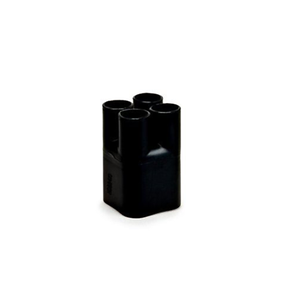 3M Heat Shrinkable Cable Breakout Boot HDBB-420-1-250: Black, 4-way outlet