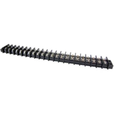 NTE Electronics 25-B600-22 Terminal Block Barrier Dual Row 22 Pole 11.00mm Pitch