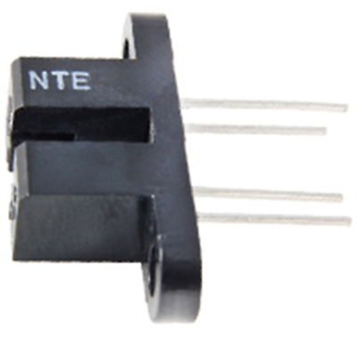 NTE Electronics NTE3100 Photo Coupled Interrupter Module W/npn Transistor Output