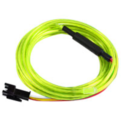 NTE Electronics 69-ELCW3.2YG EL CHASING WIRE 3.2MM DIA YELLOW/GREEN 3M