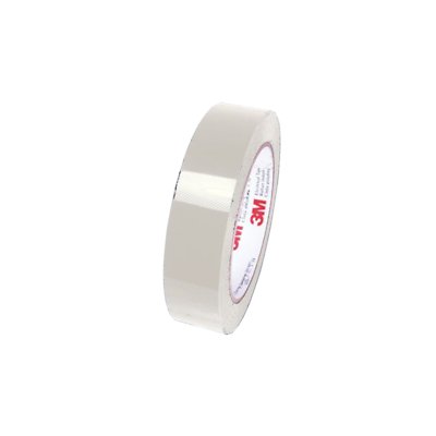 3M Polyester Film Electrical Tape 5, Clear, Acrylic Adhesive, 3/4 in x 72 yd