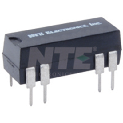 NTE Electronics R57-1D.5-5/6D RELAY-REED SPST-NO .5A 5/6VDC DUAL IN-LINE PKG