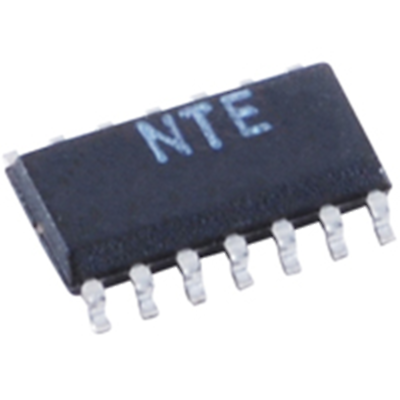 NTE Electronics NTE4012BT Integrated Circuit CMOS Dual 4-input NAND Gate Soic-14