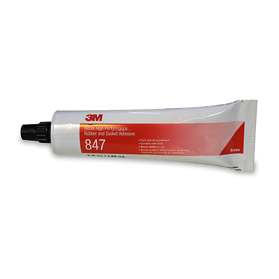 3M™ Nitrile High Performance Rubber And Gasket Adhesive 847 Brown, 5 oz