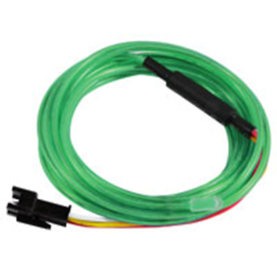 NTE Electronics 69-ELCW3.2GR EL CHASING WIRE 3.2MM DIA GREEN 3 METER LENGTH