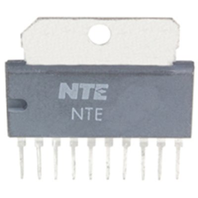 NTE Electronics NTE1278 INTEGRATED CIRCUIT AUDIO POWER AMP PO=5.8W 10-LEAD
