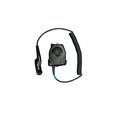 3M™ PELTOR™ Push-To-Talk (PTT) Adapter, Motorola Turbo, NATO Wiring, FL5063-02