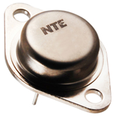 NTE Electronics NTE181 TRANSISTOR NPN SILICON 100V 30AMP TO-3 CASE HIGH POWER AU