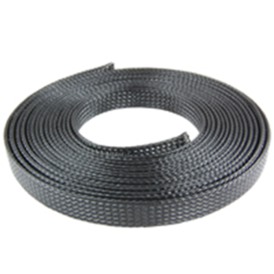 "NTE Electronics 04-ESNF-125C EXPANDABLE SLEEVING POLYESTER 1/8"" DIA"" BLACK 100"""