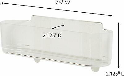 Command Clear Medium Caddy with Clear Strips HOM14CLR-ES