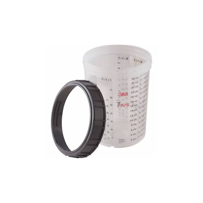 3M™ PPS™ Cup & Collar, 16023, Large