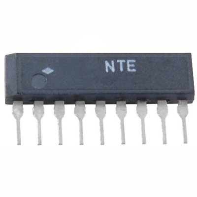 NTE Electronics NTE1718 INTEGRATED CIRCUIT DUAL COMPARATOR 9-LEAD SIP VCC=+-18V