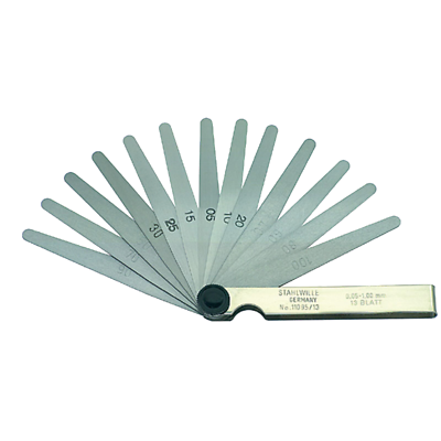 Stahlwille 74240001 11095/13 Precision Feeler Gauge 0.05-1.00mm