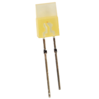 NTE Electronics NTE3162 LED Yellow Rectangular 1mm X 5mm