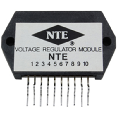 NTE Electronics NTE1822 HYBRID MODULE 3-OUTPUT VOLTAGE REGULATOR FOR VCR 10-LEAD