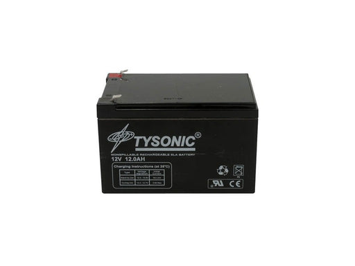 Tysonic TY-12-12 12V 12AH Sealed Lead Acid Battery