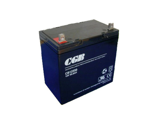 Tysonic TY-12-55 12V 55AH Sealed Lead Acid Battery