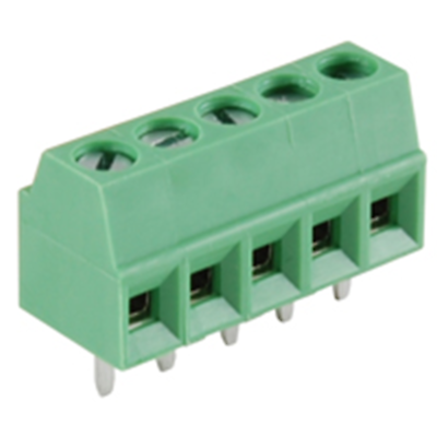 NTE Electronics 25-E100-05 Terminal Block Eurostyle 5 Pole 3.50mm Pitch 300V 10A