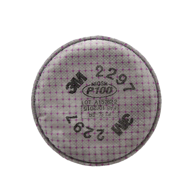 3M™ Advanced Particulate Filter 2297, P100, Nuisance Level Organic Vapor Relief