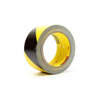 3M™ Safety Stripe Tape 5702 Black/Yellow, 2 in x 36 yd 5.4 mil