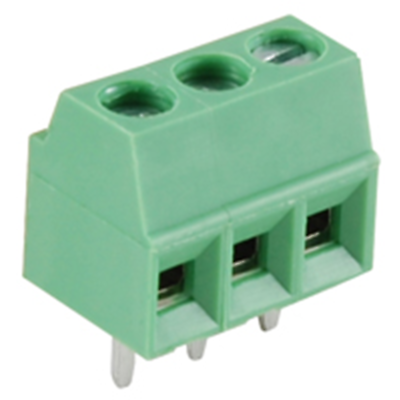 NTE Electronics 25-E100-03 Terminal Block Eurostyle 3 Pole 3.50mm Pitch 300V 10A