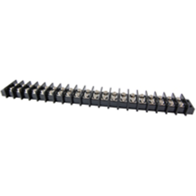 NTE Electronics 25-B600-20 Terminal Block Barrier Dual Row 20 Pole 11.00mm Pitch