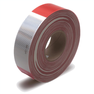 3M™ Diamond Grade™ Conspicuity Markings 983-32 Red/White, PN67533, 2 in x 50 yd