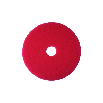 3M™ 7000000677 Red Buffer Pad 5100, 13 in