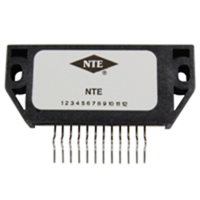 NTE Electronics NTE7023 MODULE - 3 OUTPUT VOLTAGE REGULATOR FOR VCR 12 LEAD SIP