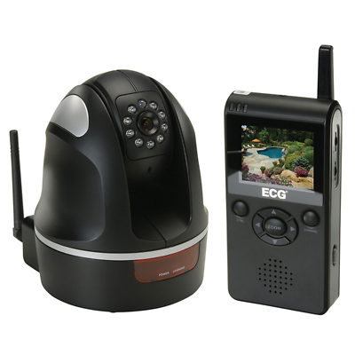 NTE Electronics WSS-1 WIRELESS DIGITAL PAN, TILT SURVEILLANCE SYSTEM