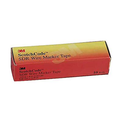 3M™ ScotchCode™ Wire Marker Tape Refill Roll SDR-A